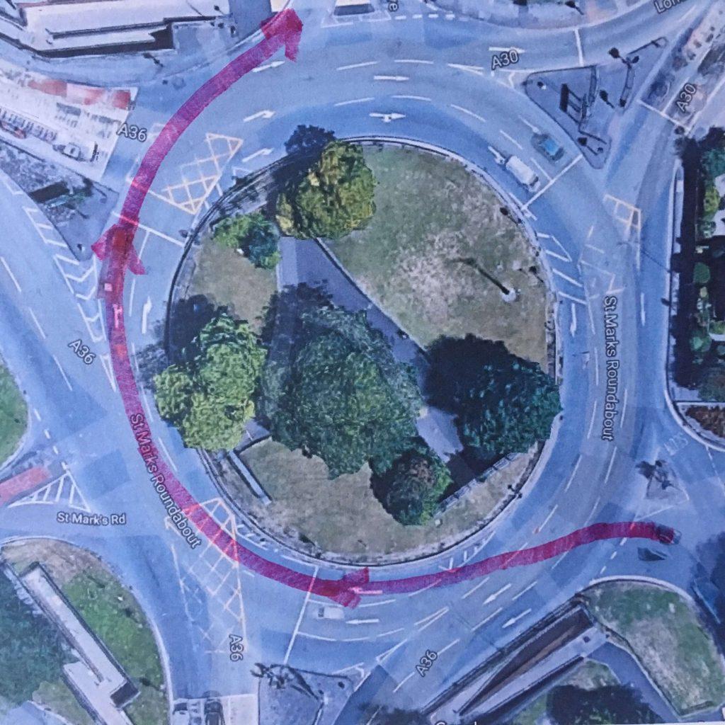 Salisbury Roundabout Exit 4