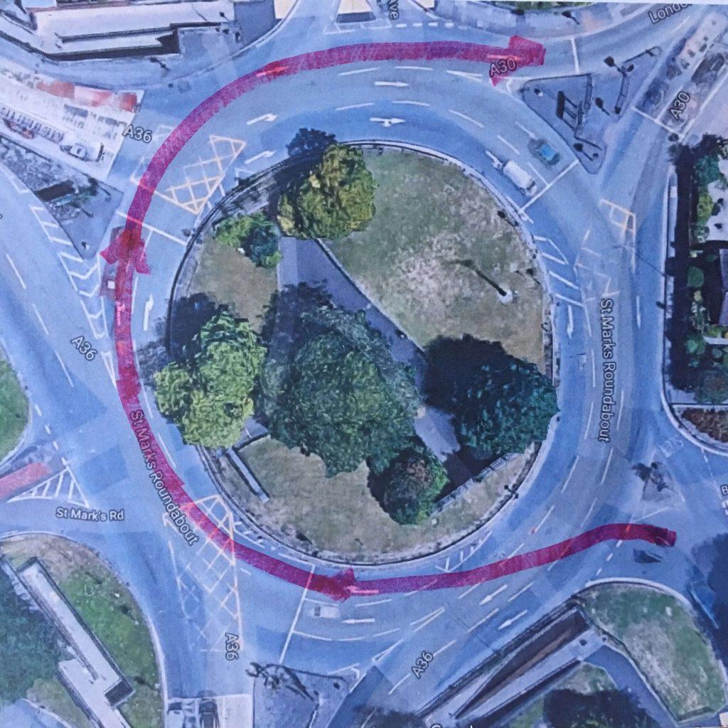 Salisbury Roundabout Exit 5