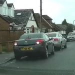 Parked Car – Reversing Lights – Beware