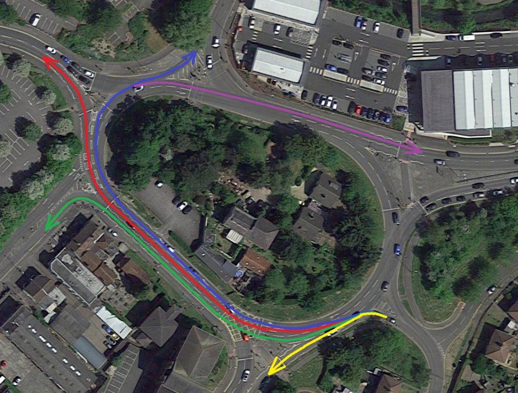 Longfield Roundabout