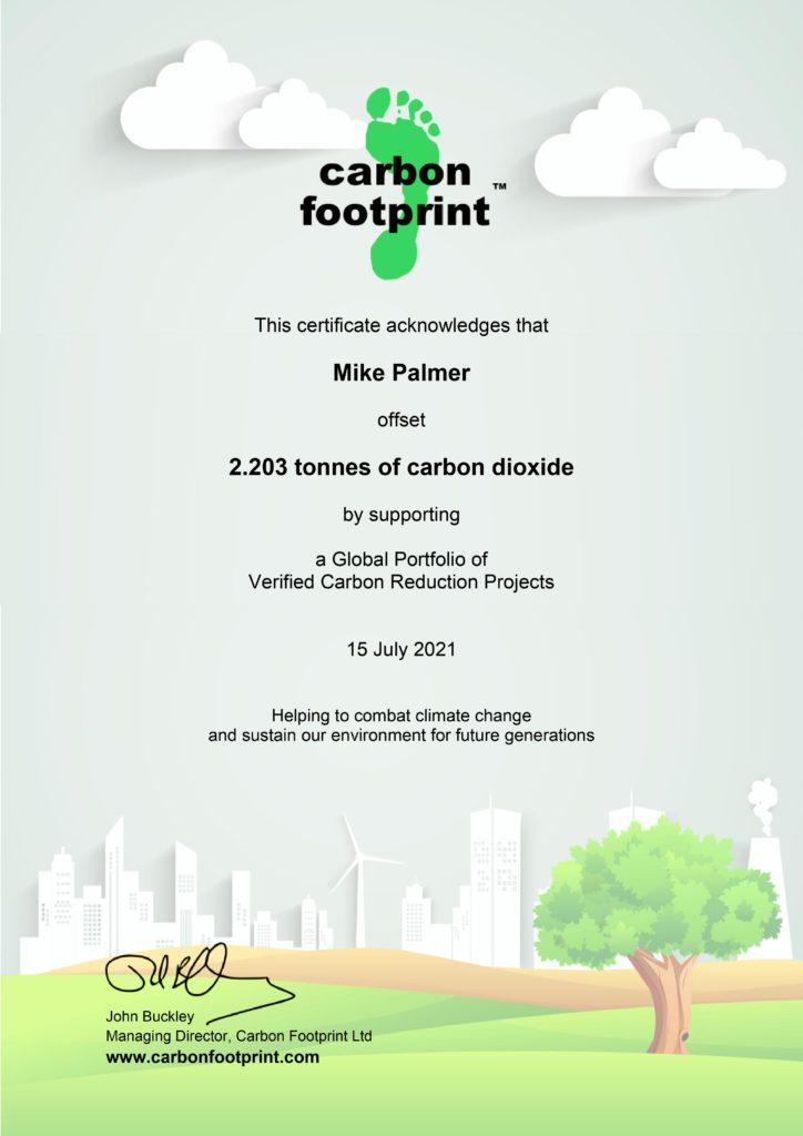 Carbon Offset 2021